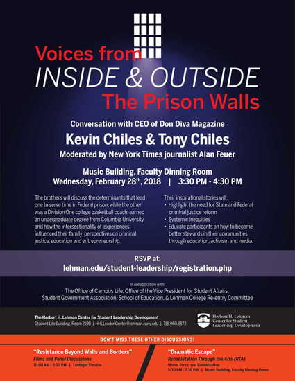 Voices from inside & outside the prison walls