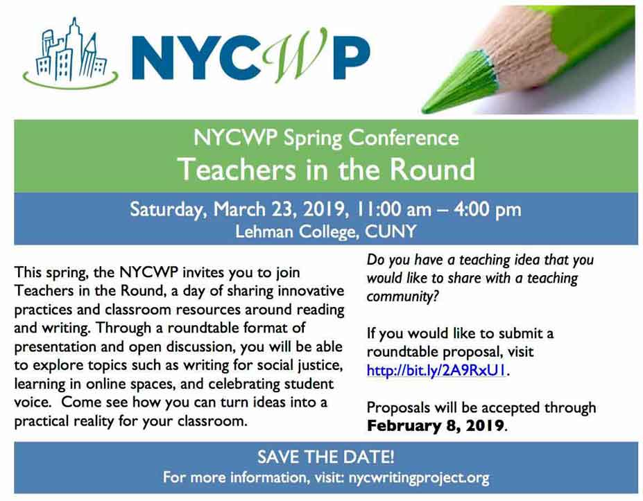 NYC Writers Project Conference