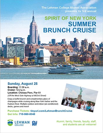 Lehman College Spirit of New York Summer Brunch Cruise