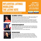 Influential Latinas Panel