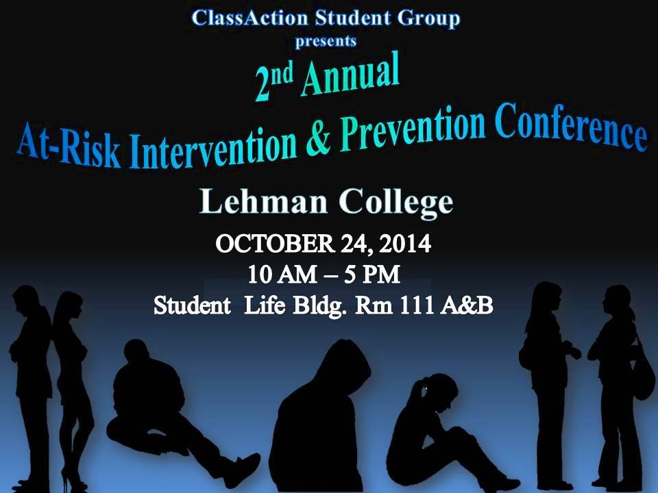 2nd Annual At-Risk Intervention & Prevention Conference